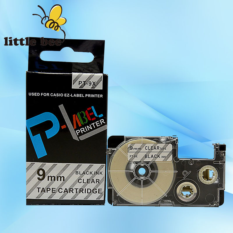10Piece of XR-9X1 Mixed colors 9mm Compatible CASIO label tapes XR-9WE1 XR-9X1 XR-9YW1 XR-9RD1 XR-9GN1 XR-9BU1 printer Ribbon