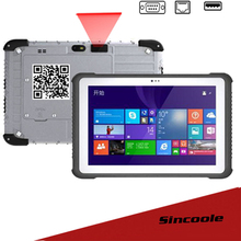 windows 10 home 10.1 inch RAM/ROM 2GB/32GB 2D barcode rugged Tablets(China)