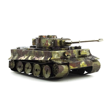 Colorized Tiger Tank model kit laser cutting 3D puzzle DIY metal Military model jigsaw best gifts for kids educational toys