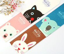 New 5pcs / Set cute happy day Stationery envelopes paper envelope Wholesale(China)