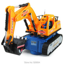 Electric toy car/engineering vehicle digger model/music/light/caster/baby toys/toys for children/toy/src car/lepin technic