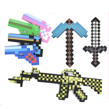 One Piece Anime Toys Maynkraft Game Foam Weapons Sword Axe Shovel Gun EVA Model Toys Action Figure Toy Gift for Kids Brinquedos(China)