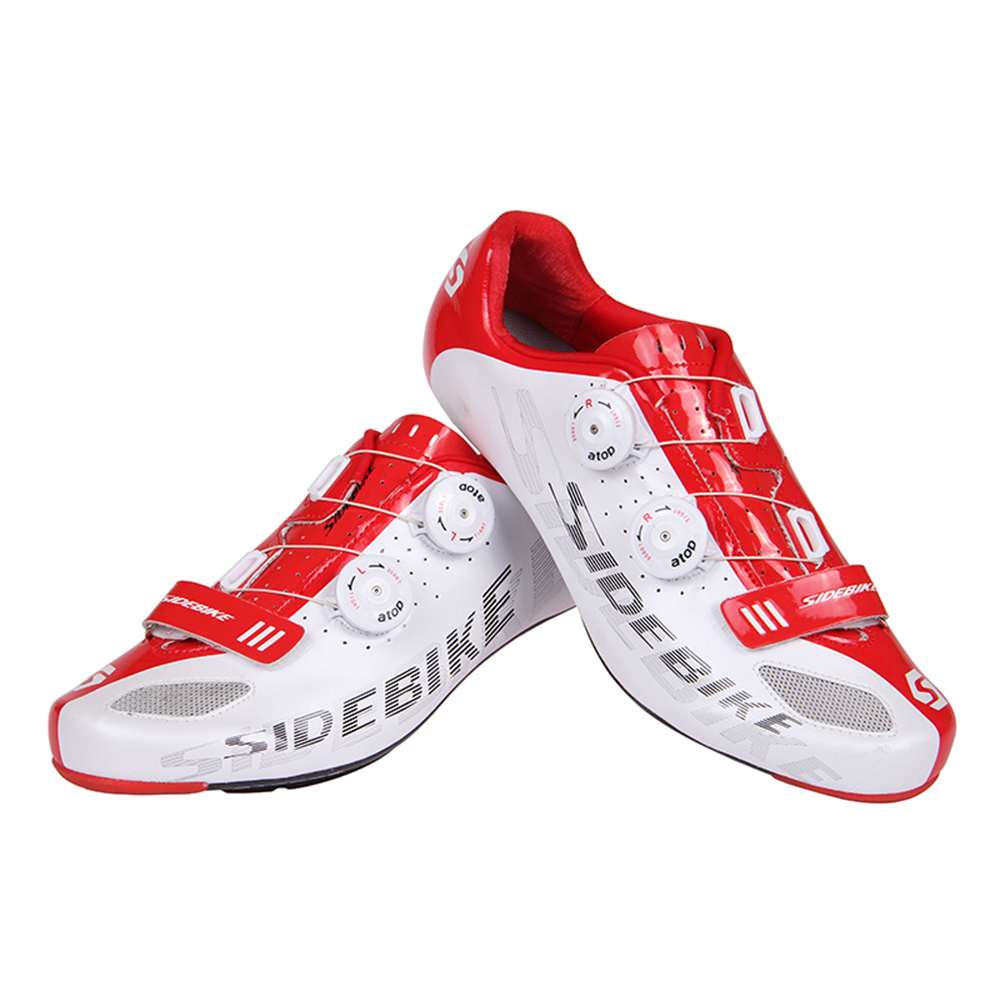 SIDEBIKE-Lightweight-Carbon-Fiber-Soles-Highway-Road-Bike-Racing-Shoes-Bicycle-Cycling-Shoes-Professional-Self-Locking