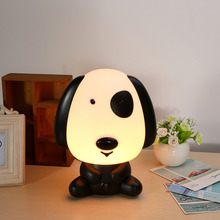 LED Baby Cartoon Night Light Sleeping Lamp 220V 48W Save Power Panda Rabbit Dog Indoor Light ABS Cartoon Lamps(China)