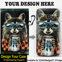 China factory OEM LOGO printing custom design your photo mobile phone case for Samsung S7