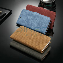 Buy Luxury Brand Leather Wallet Card Holder Flip Phone Bags Cases Coque Case Apple iPhone 7 Case iPhone7 Capa Cover 7 kickstand for $6.99 in AliExpress store