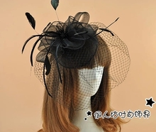 White Sexy Wedding Accessories Hats Real Image Cheap Modest Under 20 Hot Sale In Stock Free Shipping Bridal Fascinator Elegant