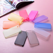 0.3mm Ultra Thin Matte Skin Cover Case for iPhone 6 6 S Translucent Thin Soft Plastic Free Shipping Cell Phone Case