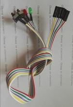 computer case power supply starting up restart cable extension cord length:67cm(China)