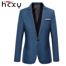HCXY Men Blazer  2017 The New Fall  mens jacket Business Slim  Blazer   Man Suit Jackets Male Clothing Big Size M-3XL