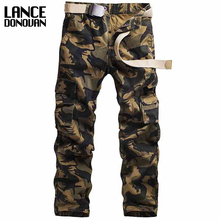 New 2017 Camouflage Tactical Military Clothing Paintball Army Cargo Pants Combat Trousers Multicam Militar