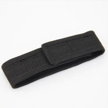 Practical Nylon Holster Holder Case Belt Velcro Pouch Cover For LED Flashlight Torch