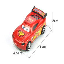 Hot 2Pcs/Set Best Gift Candy Color Plastic Cute Toy Cars for Child hot wheels Mini Car Model Kids Toys for Boys Juguetes TY002