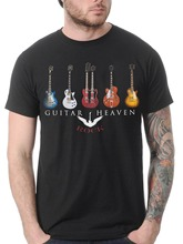 GUITAR HEAVEN CLASSIC ROCK HEAVY METAL MUSIC T Shirt men 100% cotton tee USA size S-3XL