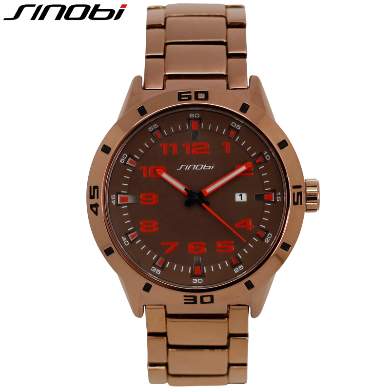 SINOBI Date Vintage Watch For Men Outdoor Classical Multifunction Watches Men Office Beautiful Top Brand New Relogio Masculino<br><br>Aliexpress