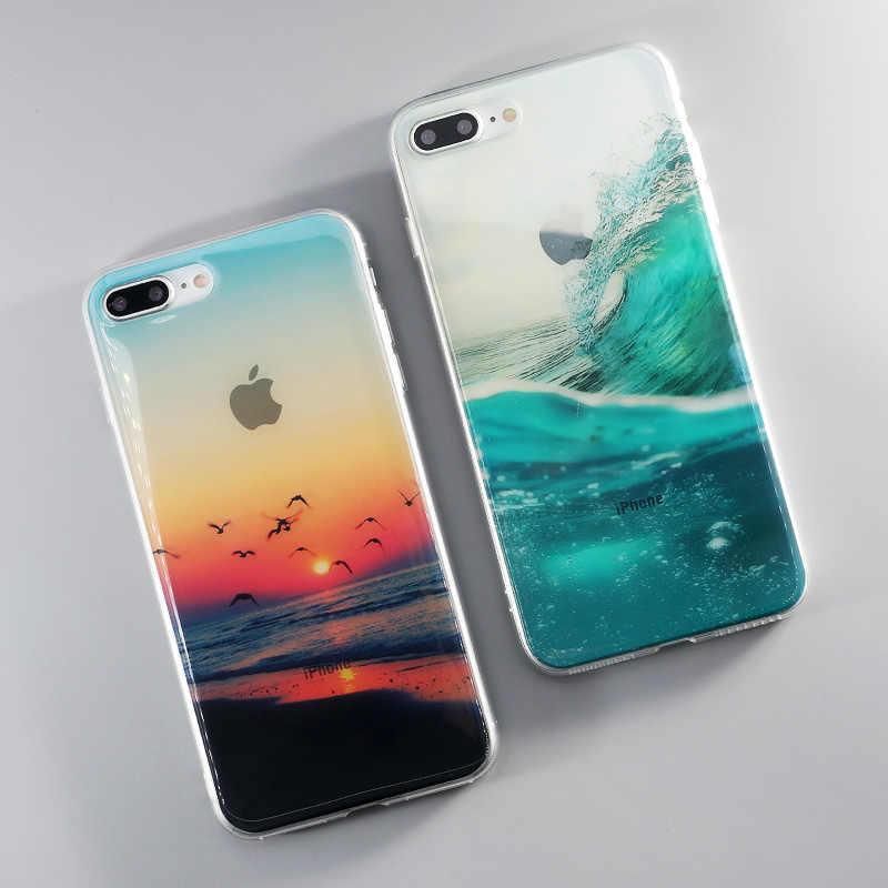 coque iphone 7 sunset