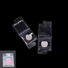 2pcs/lot Empty Plastic Eyeshadow Powder Case DIY Clear Lip Rouge Subpackage Small Sample Blister Packing Case for Blush