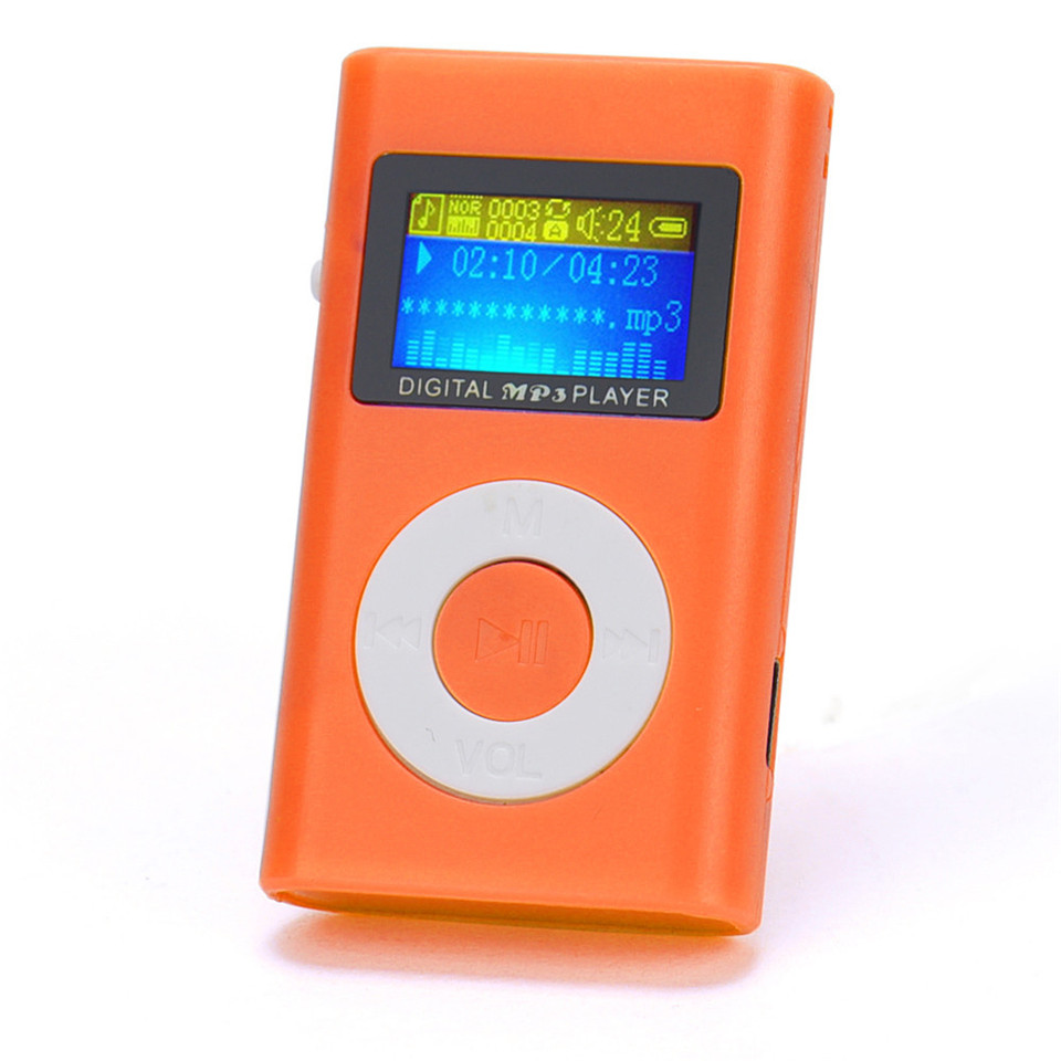 YKSO Mini MP3 Music Player USB LCD Screen MP3 Portable audio Support 32GB Micro SD TF Card sport Headphones MP3 Player (13)