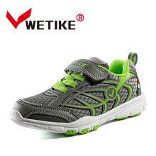2017 New Cool Kids Shoes Children Boys Sneakers Yellow/Green Kids Trainers Brand Kd Shoe Breathable Children Designer Shoes(China)