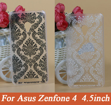fashion high quality beautiful Vintage Flower painting Custom cell phone cover case for ASUS Zenfone 4  4.5 inches A450CG