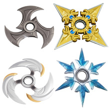 6 Types LOL Shadow Master Zed Shuriken Weapons Hand Spinner Keychain Kids Gift Action Figure Drop Shipping