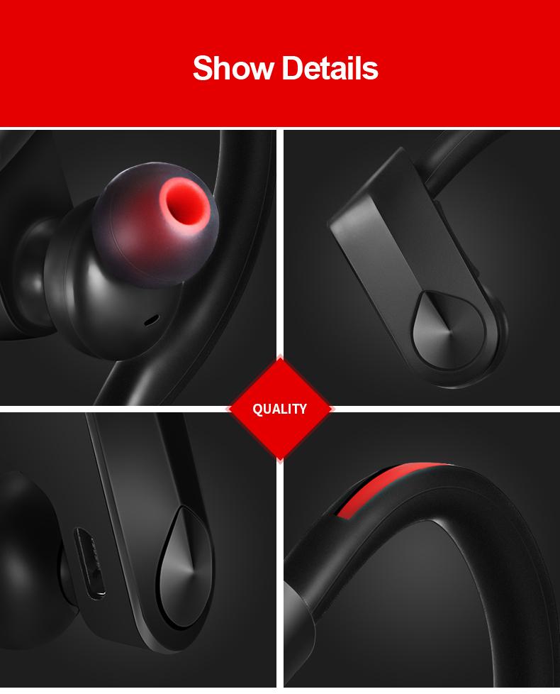 9 bluetooth headset wireless