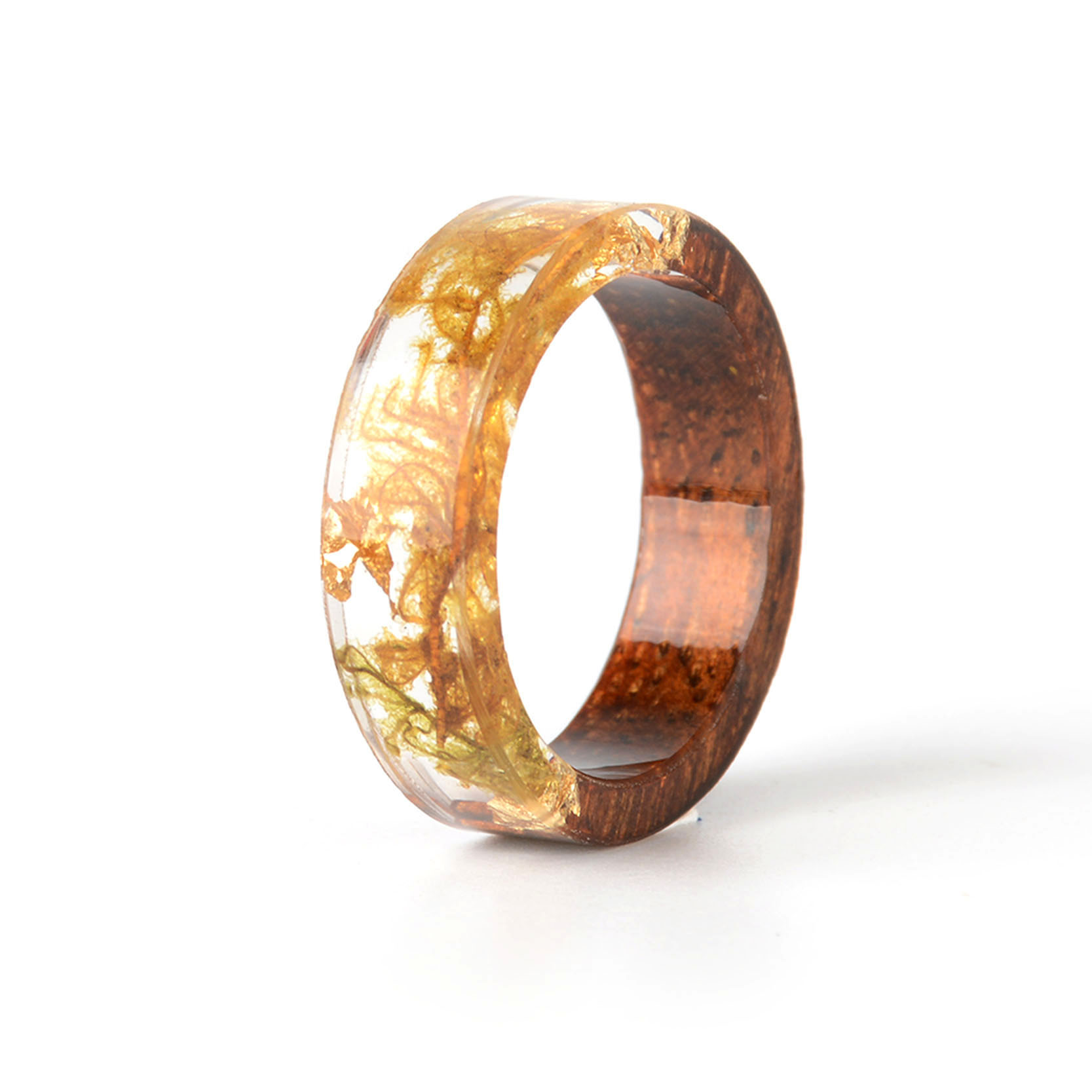 Handmade Wood Resin Ring Many Styles 21