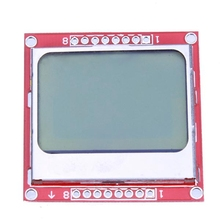 High Standard 84*48 for Nokia 5110 Liquid Crystal LCD Display Module White Backlight PCB adapter for Arduino