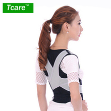 * Tcare 1 Pcs Posture Correction Waist Shoulder Chest Back Support Brace Corrector Belt for Women Men Size M/L/XL Health Care(China)
