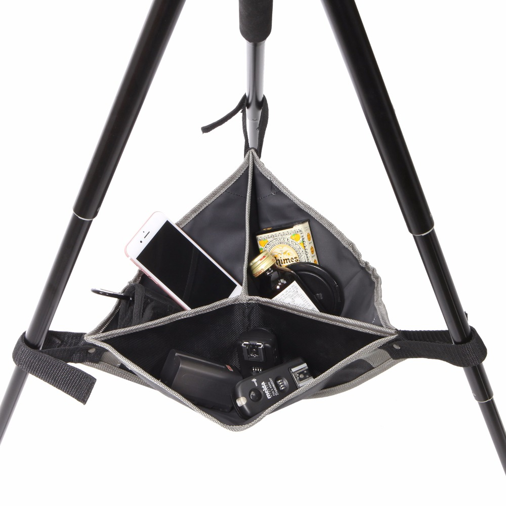 Tripod accessories Photography Heavy Weight Balance Tripod Light Stands Stone Sand Bag Case (4)