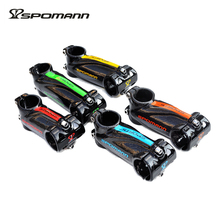 SPOMANN Free Shipping Carbon MTB Stem Full Carbon Fiber Road Bike Stem Bicycle Stem 3K  Bicycles Parts 5 Colors 70-120*31.8mm
