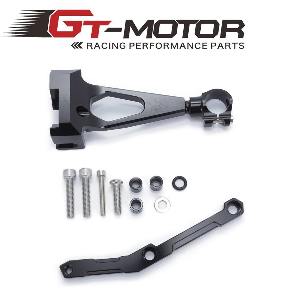 For Yamaha MT09 MT-09 FZ-09 2013-2017 Motorcycles Adjustable Steering Stabilize Damper Bracket Mount Support Kit Accessories<br>