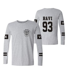 Kpop Vixx t shirt With Long Sleeve New VIXX colthes For Women Men cotton t-shirt Tshirt VIXX  Logo Gray Navy Blue Plus Size