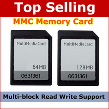 7 Pin 64MB 128MB Multi Media Card MMC Memory Card For Old Phone PDA MP3 GPS