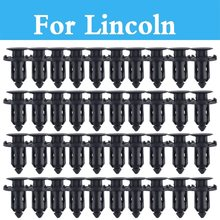 Plastic Rivets Retainer Clips Car Fender Auto Parts Panel Trim Clips For Lincoln Mkc Mks Mkt Mkz Navigator Town Car Aviator Ls