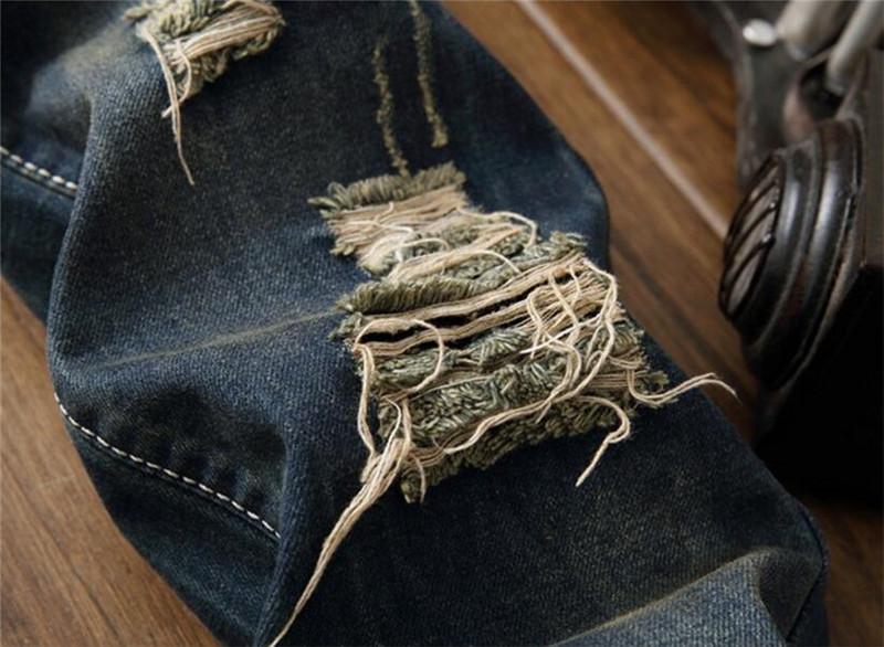 Mens ripped denim jeans09