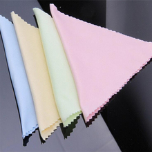 Multi Color 100 Pcs Microfiber Phone Screen Camera Lens Glasses Square Cleaner Cleaning Cloth(China)
