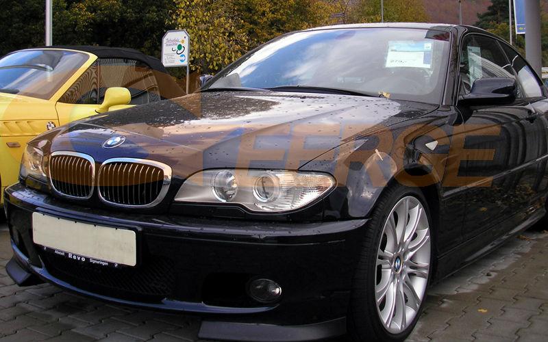 ccfl angel eyes BMW 3 Series E46 Convertible Coupe Cabrio 2004 2005 2006 LCI Xenon Headlight(1)