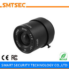 "SMTSEC SL-6012F 6.0mm F1.2 1/3"" CS Mount 53 Degrees Fixed Iris Lens for CCTV Surveillance IP Camera"
