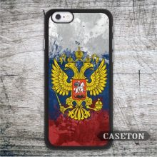 Flag Russia Case For iPhone 7 6 6s Plus 5 5s SE 5c and For iPod 5 Brand New Classic Vintage Phone Ultra Cover Free Shipping
