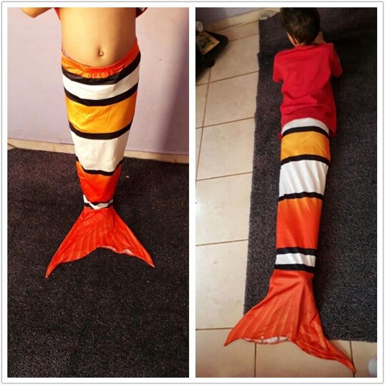 Mermaid Tail Kid's Summer Swimwear