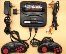 FEIHAO Retro TV Video Game Console For MegaDrive 16 Bit Game Cartridge with 14 Built-in Games and 18 in 1 Game Card NTSC Output(China)