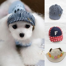 1pc Pet Hats Cute Pet Dog Teddy Poodle Beret Hat Hair Pet Windproof Accessories A35