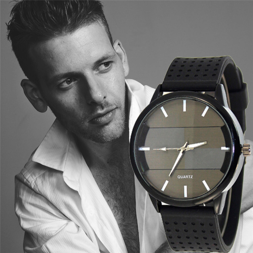 Fabulous Luxury Quartz Sport Military Stainless Steel Dial Leather Band Wrist Watch Men relogio Wholesale AUG26<br><br>Aliexpress