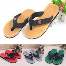 2017 Summer Fashion Men sandals and slippers flat slippers non-slip slippers Colorful beach sandals 5 Colors for Choice