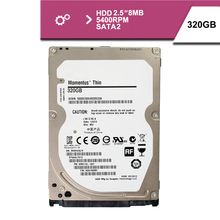 "Brand Sealed 2.5 ""320GB sata2 320MB/s notebook hdd hard disk drive 8mb 5400rpm"