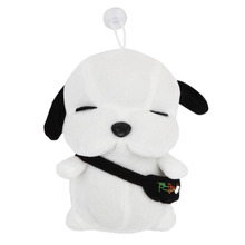 OCDAY Fashion Korean Plush Dog 18cm/25cm Lovers Presents Creative Cottton Animal Soft Stray Dogs Toys For Children New Sale