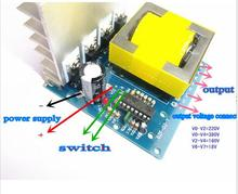 DC-AC Converter 12V to 220V 380V 18V AC 500W Inverter Board Pre booster module free(China)