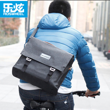 Roswheel Classic Waterproof Bike Briefcase Bag 14L City Leisure Style Bicycle Backpack Should Bag for men women