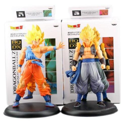 2pcs PVC Japanese Anime Figures Super Saiyan Dragon Ball Z DBZ GOKU Action Figures Brinquedos Kid Toys Collectible Gift<br><br>Aliexpress